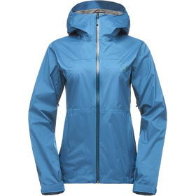 Black Diamond Stormline Stretch Rain Shell Jacket Women aegean